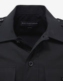 Shrunk Uniforme Black Shirt
