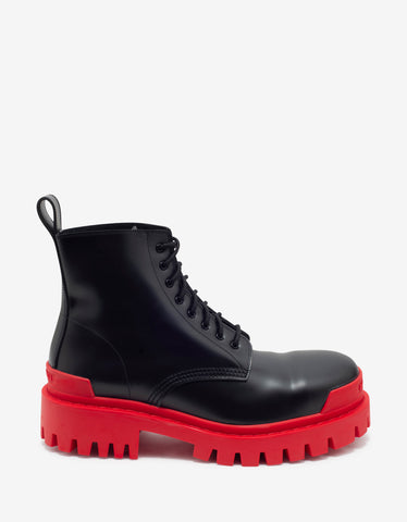 Balenciaga Strike 20mm Black Boots