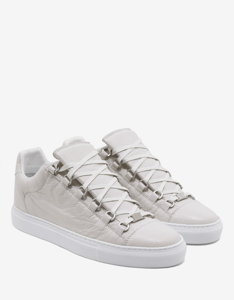 Extra Blanc Arena Leather Low Trainers
