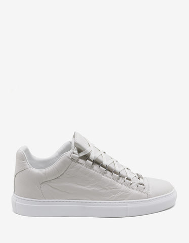 Balenciaga Extra Blanc Arena Leather Low Trainers