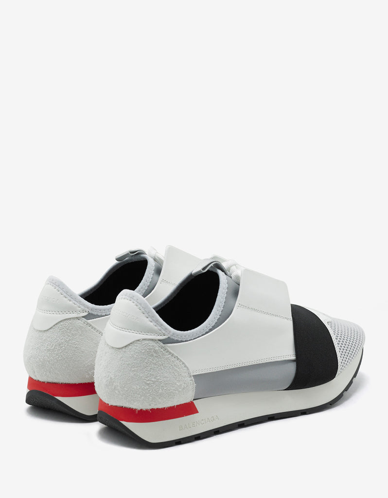 White Panelled Race Runners