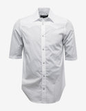 White Short Sleeve Western Shirt