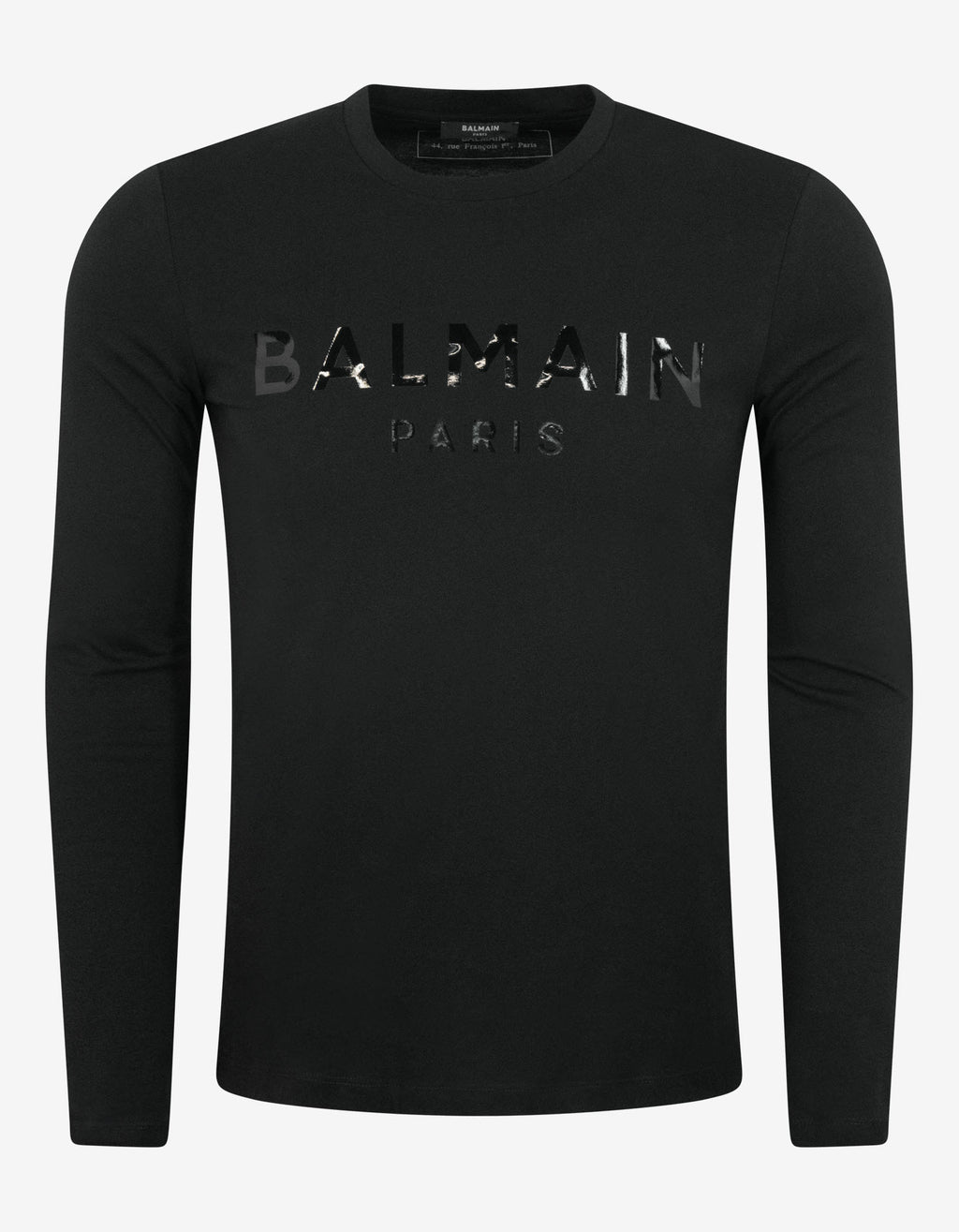 Black Tonal Logo Long Sleeve T-Shirt