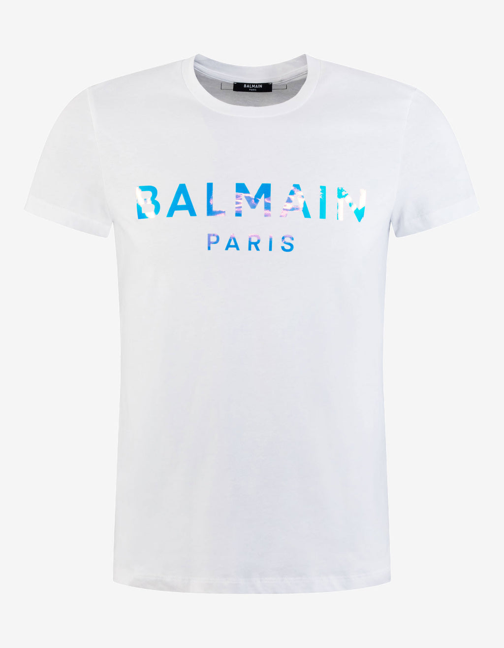 White Hologram Logo T-Shirt