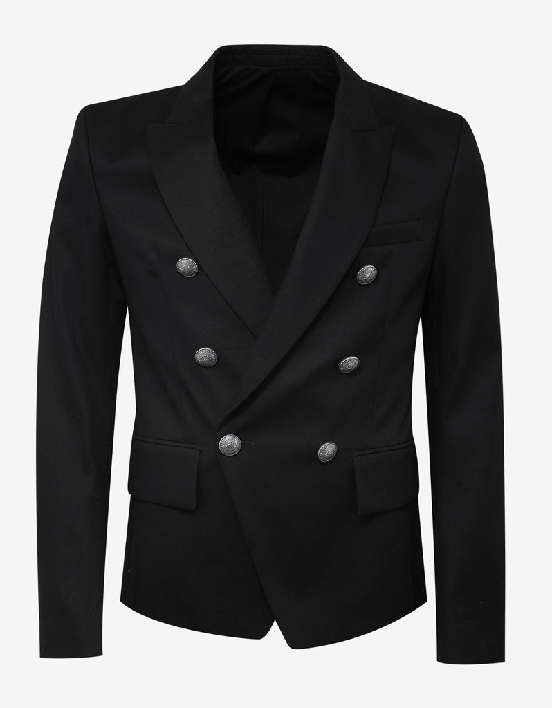 Black Double Breasted Blazer