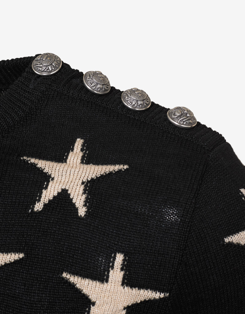 Stars & Stripes Distressed Sweater