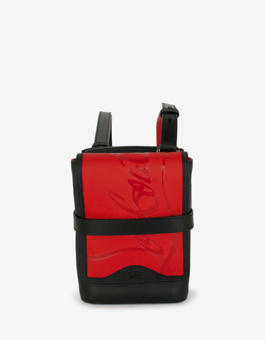 Coolcard Sneakers Sole Black & Red Billfold Wallet
