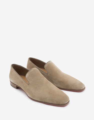 Carderby Brown Suede Leather Shoes -
