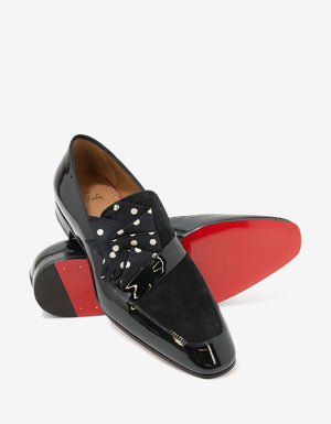 Dandy Me Patent & Suede Leather Loafers