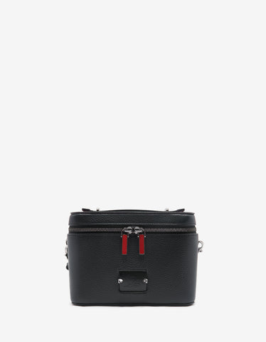 Blaster Spikes Black Leather Travel Case