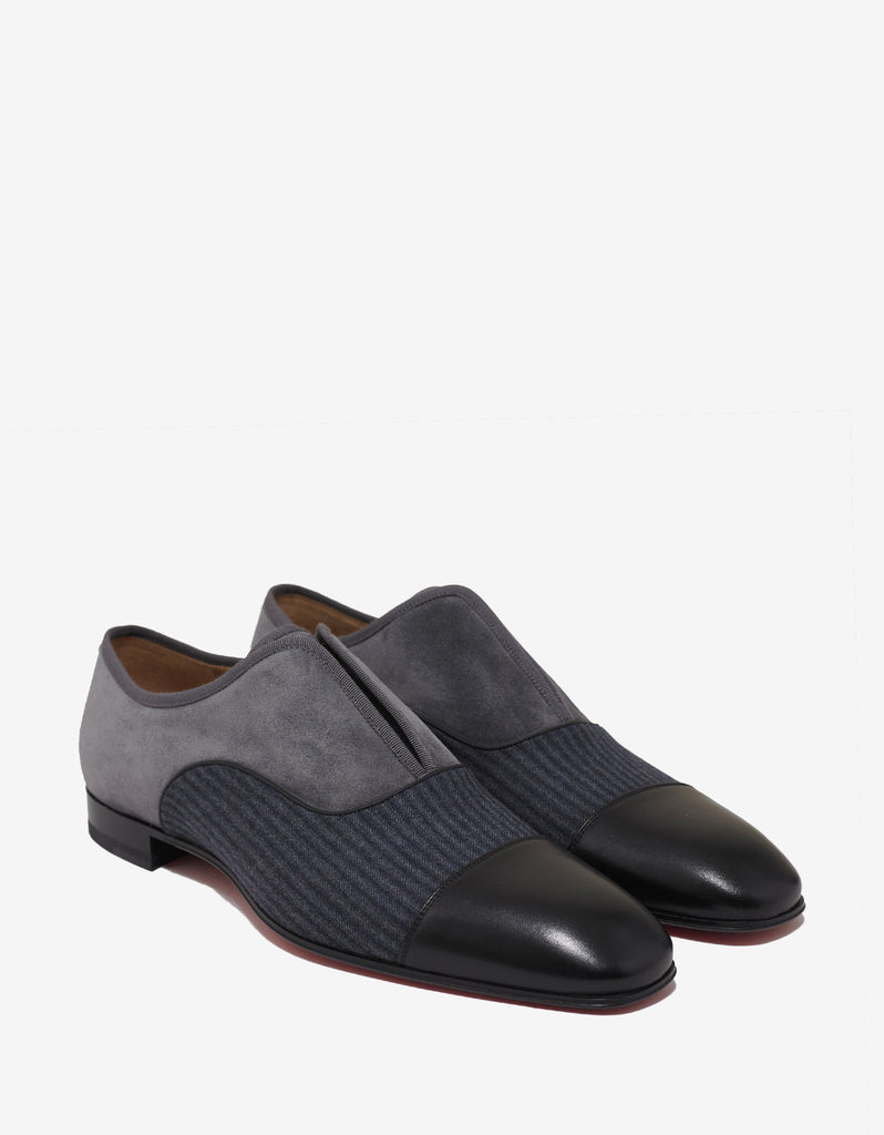 Alpha Male Flat Multi-Panelled Loafers