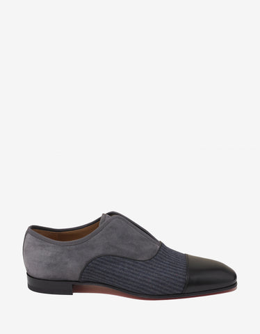 Christian Louboutin Alpha Male Flat Multi-Panelled Loafers
