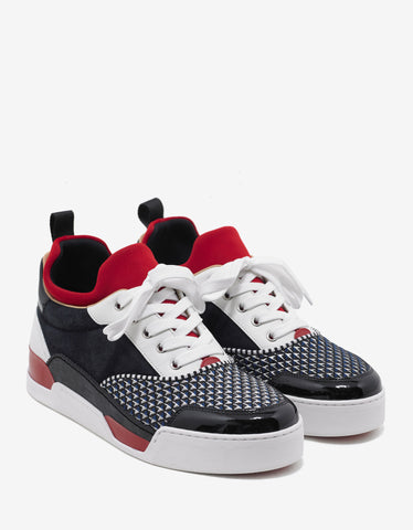 Christian Louboutin Aurelien Flat Multi-Layered Trainers