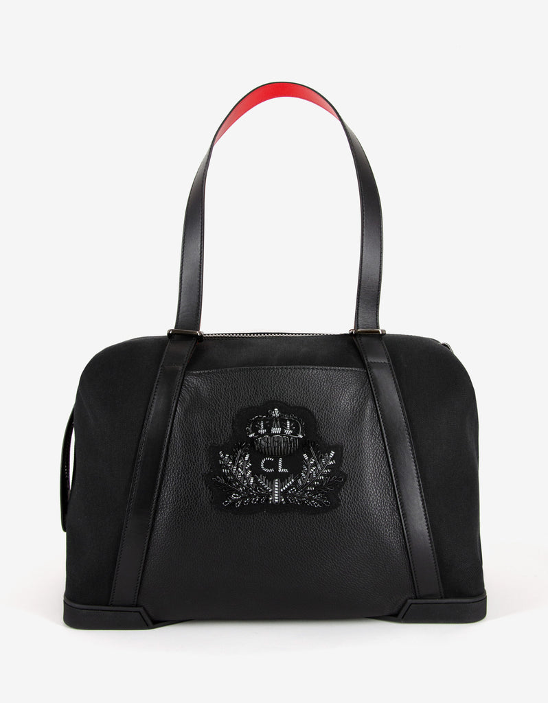 Bagdamon Black Canvas Holdall