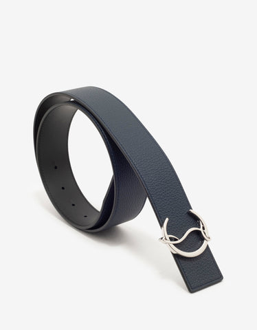 Louis Spikes Buckle Black Belt