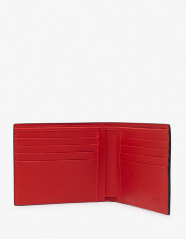Christian Louboutin Coolcard Sneakers Sole Black Billfold Wallet