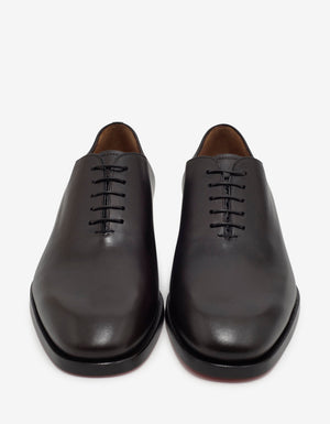Corteo Brown Patina Leather Oxford Shoes