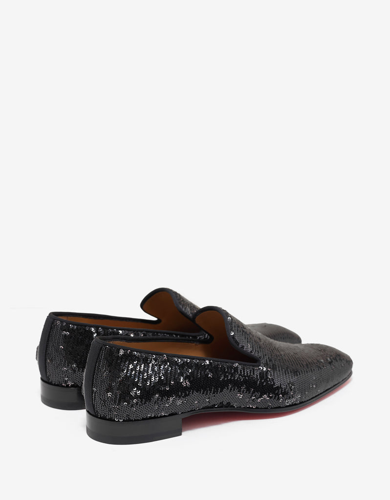 Dandelion Flat Sequin Embellished Loafers -