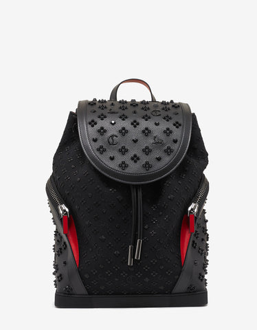 Christian Louboutin Explorafunk Jacquard Loubinthesky Backpack