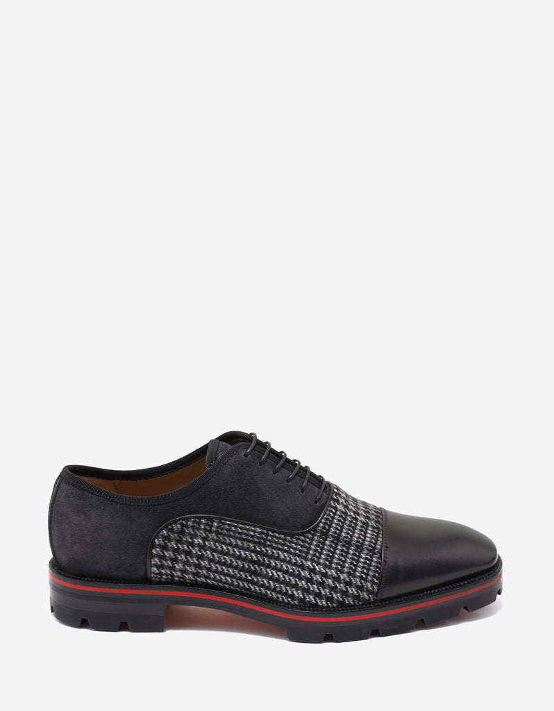 Hubertus Orlato Flat Panelled Oxford Shoes