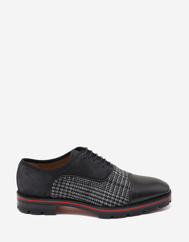 Christian Louboutin Hubertus Orlato Flat Panelled Oxford Shoes