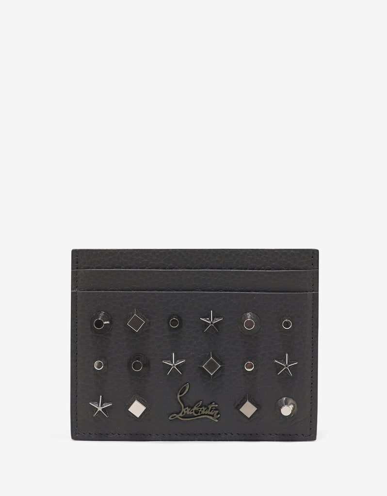 Kios Charbon Grey Trashmix Studs Card Holder
