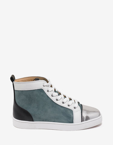 Lois Flat Everest Panelled High Top Trainers