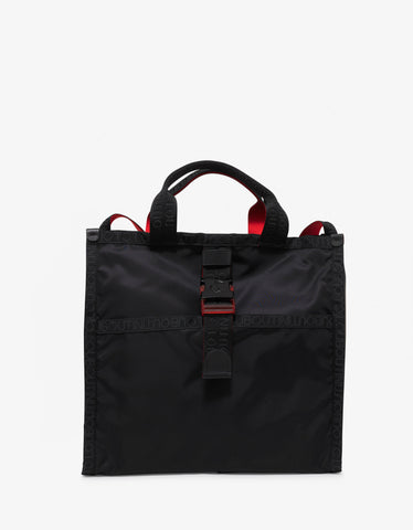 Christian Louboutin Loubiclic Tote Black Nylon Bag
