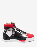 Loubikick Flat Multi-Layered High Top Trainers