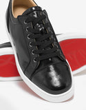 Louis Junior Orlato Flat Black Panther Print Trainers