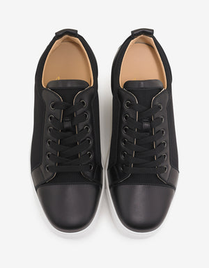 Louis Junior Orlato Flat Leather & Mesh Trainers