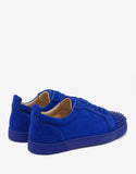 Louis Junior Spikes Orlato Atlantic Blue Suede Trainers -