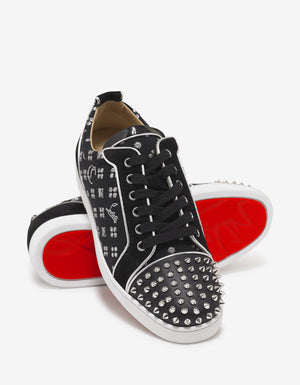 Louis Junior Spikes Orlato Flat Loubi In The Sky Trainers
