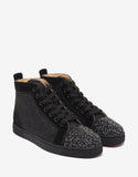Louis P Strass Flat High Top Trainers