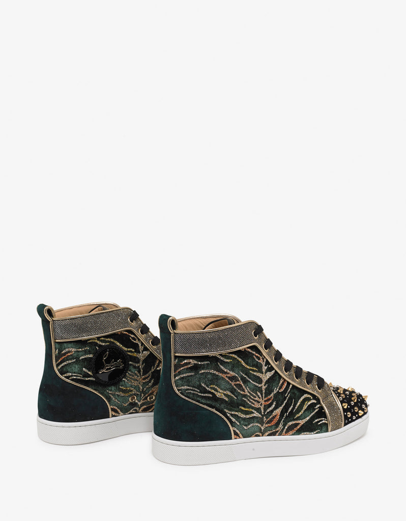 Milkylou Bengal Velvet High Top Trainers