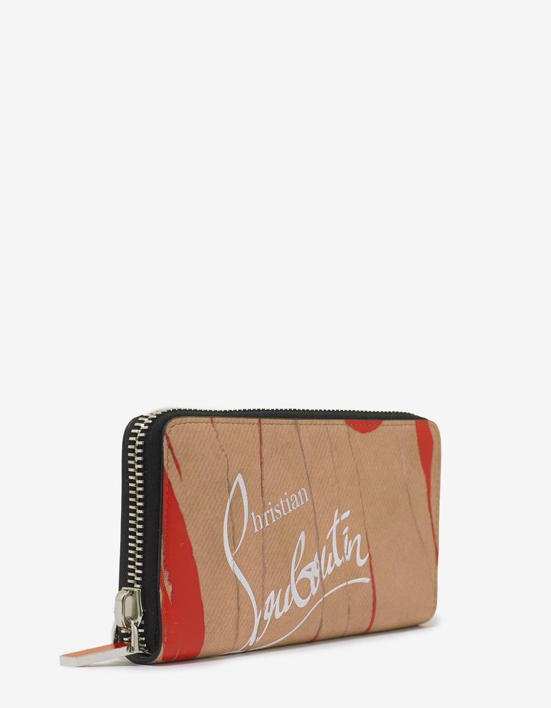 Panettone Kraft Loubi Leather Wallet