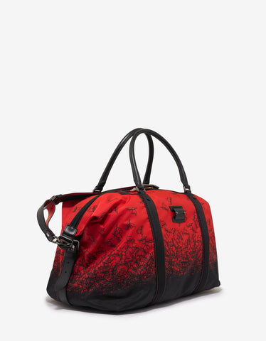 Christian Louboutin Parislisboa Red Degraloubi Print Duffle Bag