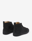 Rantus Orlato Flat Shantung Lurex High Top Trainers