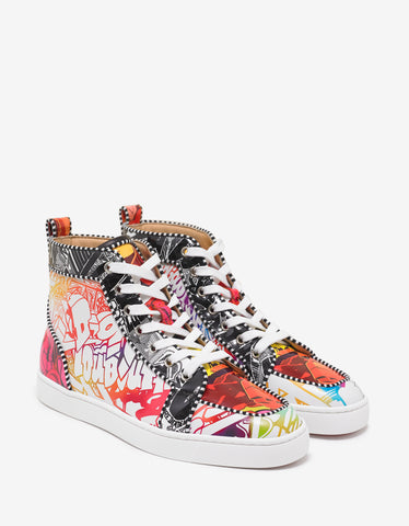 Christian Louboutin Rantus Orlato Flat Wallgraf High Top Trainers