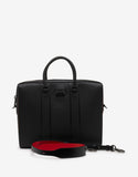 Streetwall Black Leather Briefcase