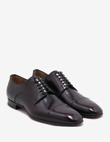 Christian Louboutin Top Daviol Flat Indiana Derby Shoes
