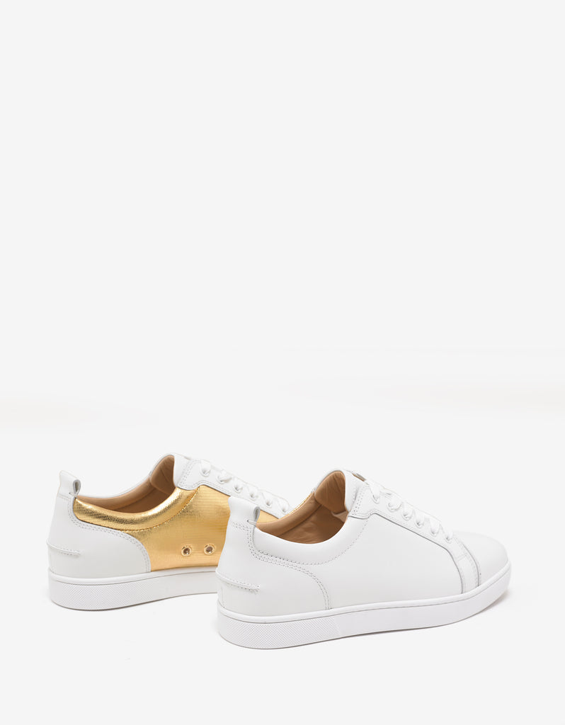 Yang Louis Junior Latte & Gold Trainers