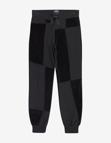 Christopher Raeburn Black Jersey Mix Sweat Pants