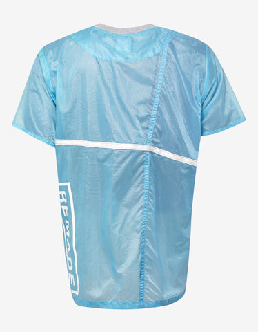Christopher Raeburn Blue Remade Parachute T-Shirt