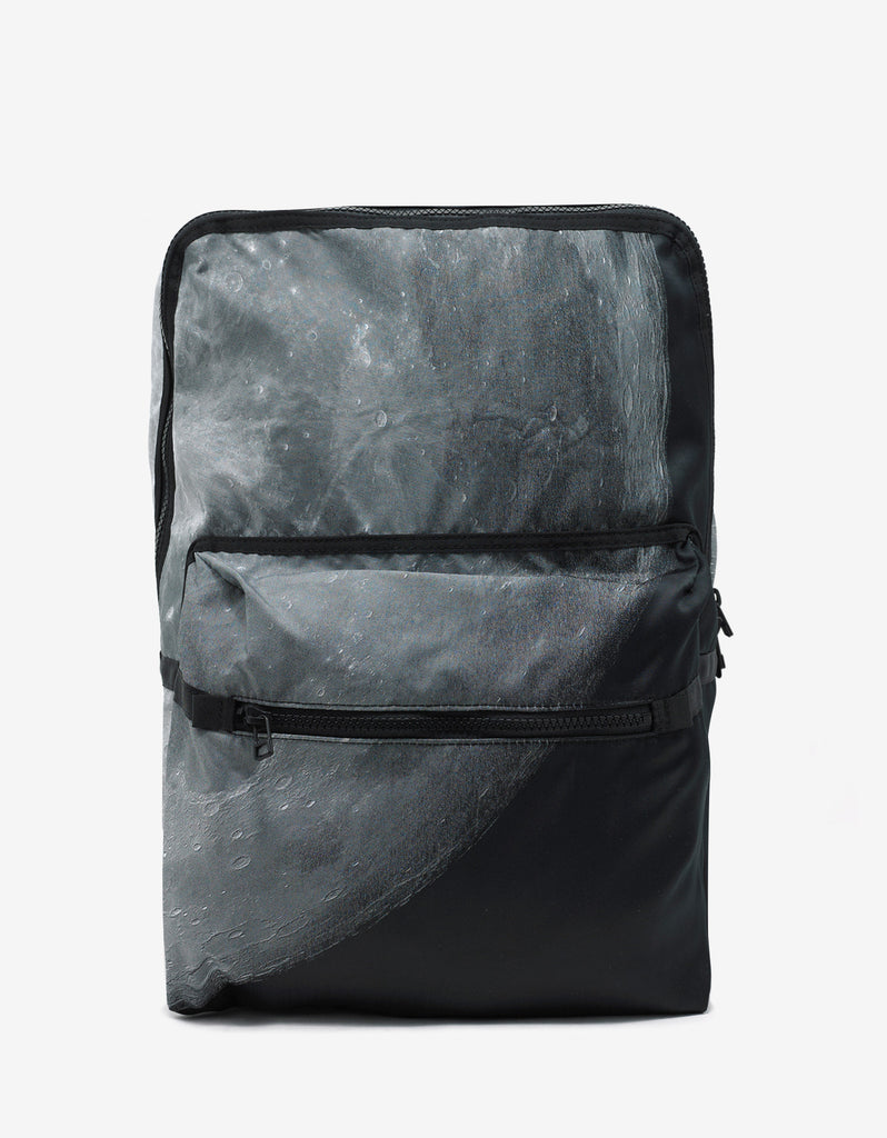 Moon Print Canvas Daypack