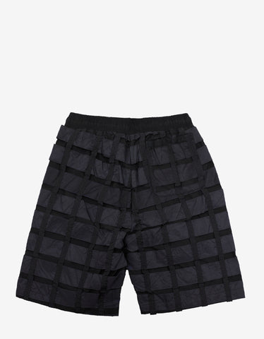 Christopher Raeburn Remade Airbrake Black Lightweight Shorts