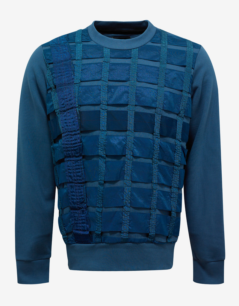 Remade Airbrake Teal Blue Sweatshirt