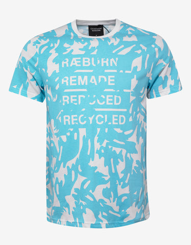 Christopher Raeburn White Camo Print T-Shirt