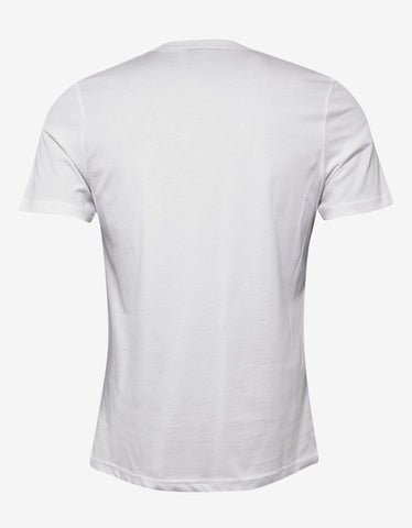 Christopher Raeburn White Ethos Print T-Shirt