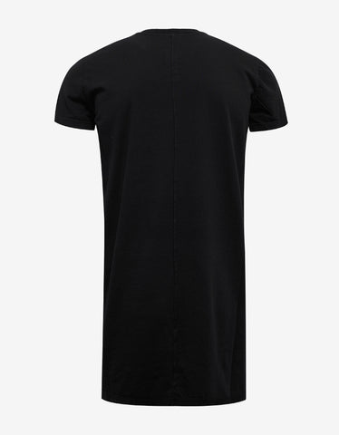 DRKSHDW by Rick Owens Black Bleach Vomit Print T-Shirt